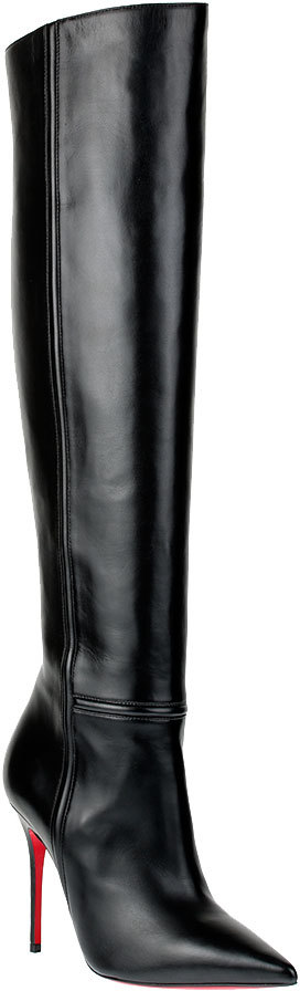 Thumbnail for your product : Christian Louboutin Armurabotta 100 nappa leather boot