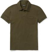 Tom Ford - Slim-fit Cotton-piqué Polo Shirt