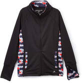 Danskin Black USA Zip-Up Jacket - Girls