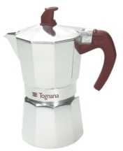 Tognana Extra Style Aluminum 12 Cup Coffee Maker
