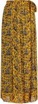 Etoile Isabel Marant Belina Printed Silk Chiffon Maxi Skirt
