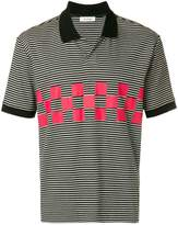 Tim Coppens striped polo shirt