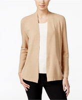 Charter Club Zip-Pocket Cardigan, Only at Macy's