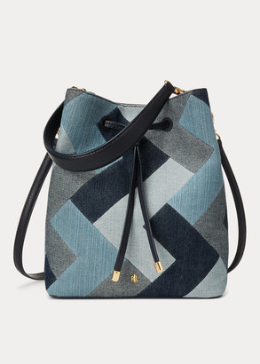 Ralph Lauren Denim Mini Debby II Bag