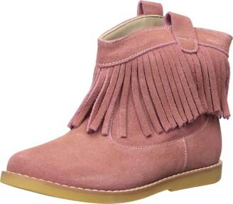 Elephantito Girls' Bootie w/Fringes-K Fashion Boot