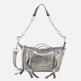 McQ Women's Loveless Mini Hobo Bag - Steel