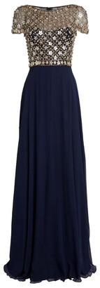 Jenny Packham Contrast Isabelle Gown