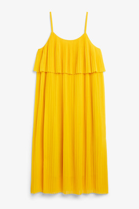 Monki Midi slip dress