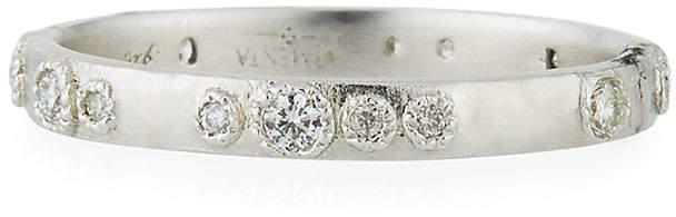 Armenta New World Scattered Diamond Ring