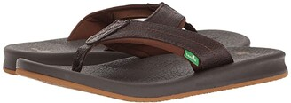 Sanuk Brumeister Primo (Dark Brown) Men's Sandals