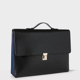 Paul Smith Men's Black 'Concertina' Briefcase