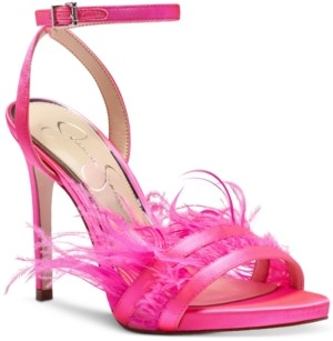 Jessica Simpson Raelin Feather Sandals Women's Shoes