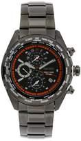 Seiko Men's SPL037 World Timer Stainless Steel Chronograph Dial Watch