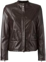 Eleventy zipped jacket - women - Sheep Skin/Shearling/Polyester - 42
