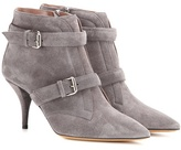 Tabitha Simmons Fitz 75 Suede Ankle Boots