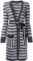 Missoni open midi cardigan
