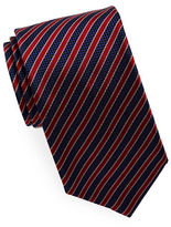 HUGO Striped Silk Tie