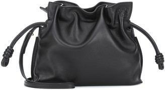 Loewe Flamenco Mini leather clutch