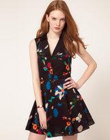 Oasis Digital Floral Dress