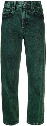 Proenza Schouler White Label PSWL Straight Overdye Jeans