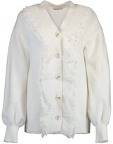 Thumbnail for your product : ADEAM White Peony Cardigan