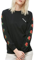 Obey Olde Rose Long Sleeve Cotton Tee
