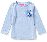 Joules Baby/Little Girls 12 Months-3T Cora Embellished Jersey Top
