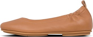 FitFlop Allegro Leather Ballet Flats