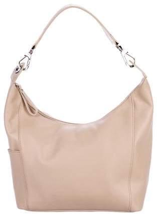 Longchamp Leather Zip Shoulder Bag