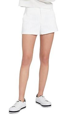Alice + Olivia Cady Pinstriped Shorts
