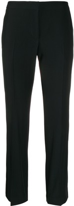 Alexander McQueen side stripe tailored trousers