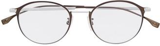 HUGO BOSS Oval Full-Rimmed Eyeglasses