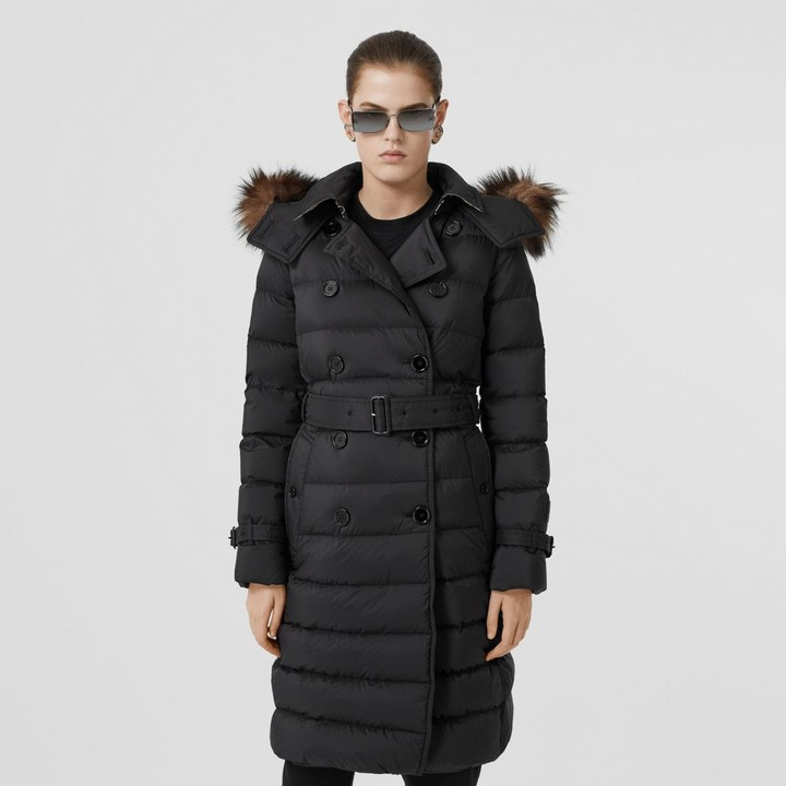 Burberry Detachable Hood Down-filled Coat