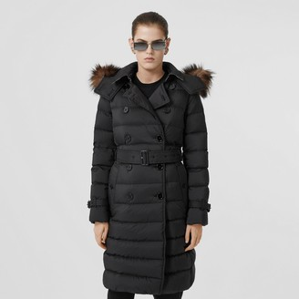 Burberry Detachable Hood Down-filled Coat