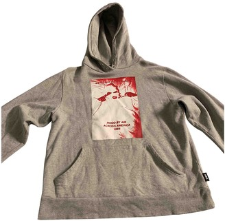 Hood by Air Grey Cotton Knitwear & Sweatshirts