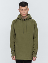 Black Scale Fishtail Pullover Hoodie