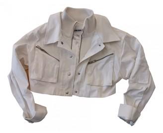 I.AM.GIA White Cotton Jackets