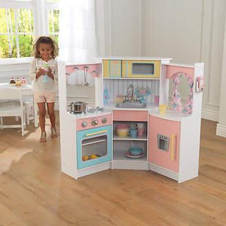 Kid Kraft Deluxe Corner Wooden Play Kitchen