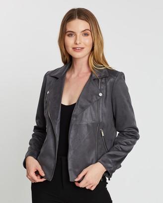Dorothy Perkins Suedette Biker Jacket