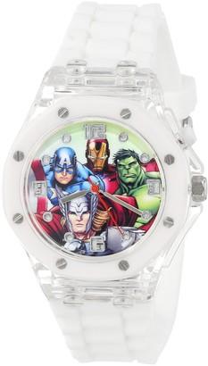 Marvel The Avengers Kids' AVG3503 Analog Display Analog Quartz White Watch