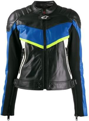 Diesel Alpinestars logo jacket