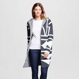 Merona Women's Patterned Car Coat