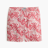 "J.Crew 9"" Board Short In Faint Floral"