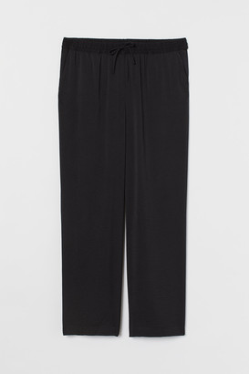 H&M H&M+ Pull-on satin trousers