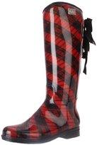 dav Women's Eve Plaid Knee-High Boot