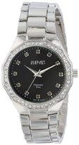 August Steiner Women's AS8044SS Diamond Swiss Quartz Bracelet Watch