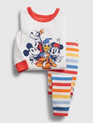 Disney babyGap   Mickey Mouse Group Organic PJ Set