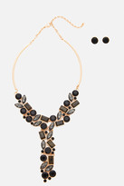 Fashion to Figure Stone T Drop Necklace Set