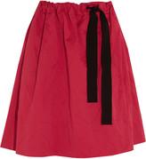 Vanessa Bruno Everett brushed cotton-blend skirt