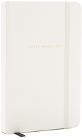 Kate Spade Little White Lies Medium Notebook